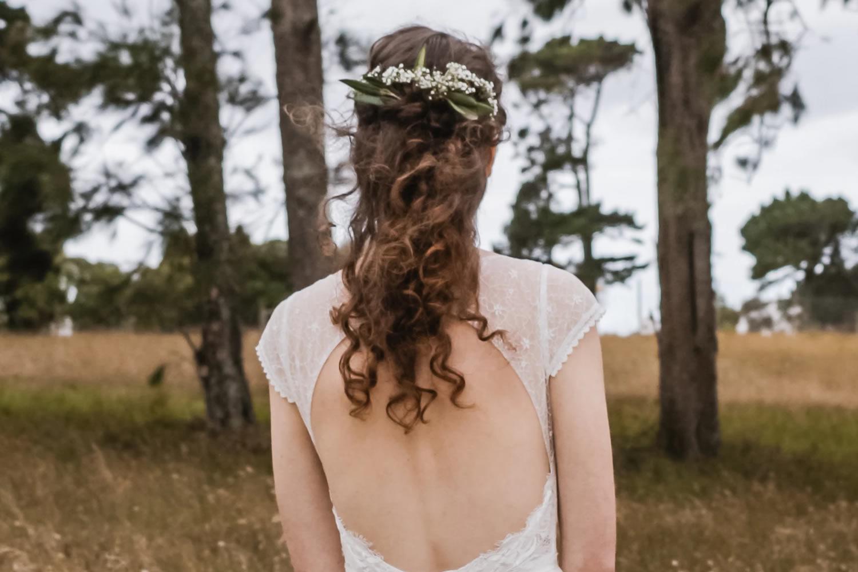 Dames huwelijkskapsel Hair Explosion Wellen