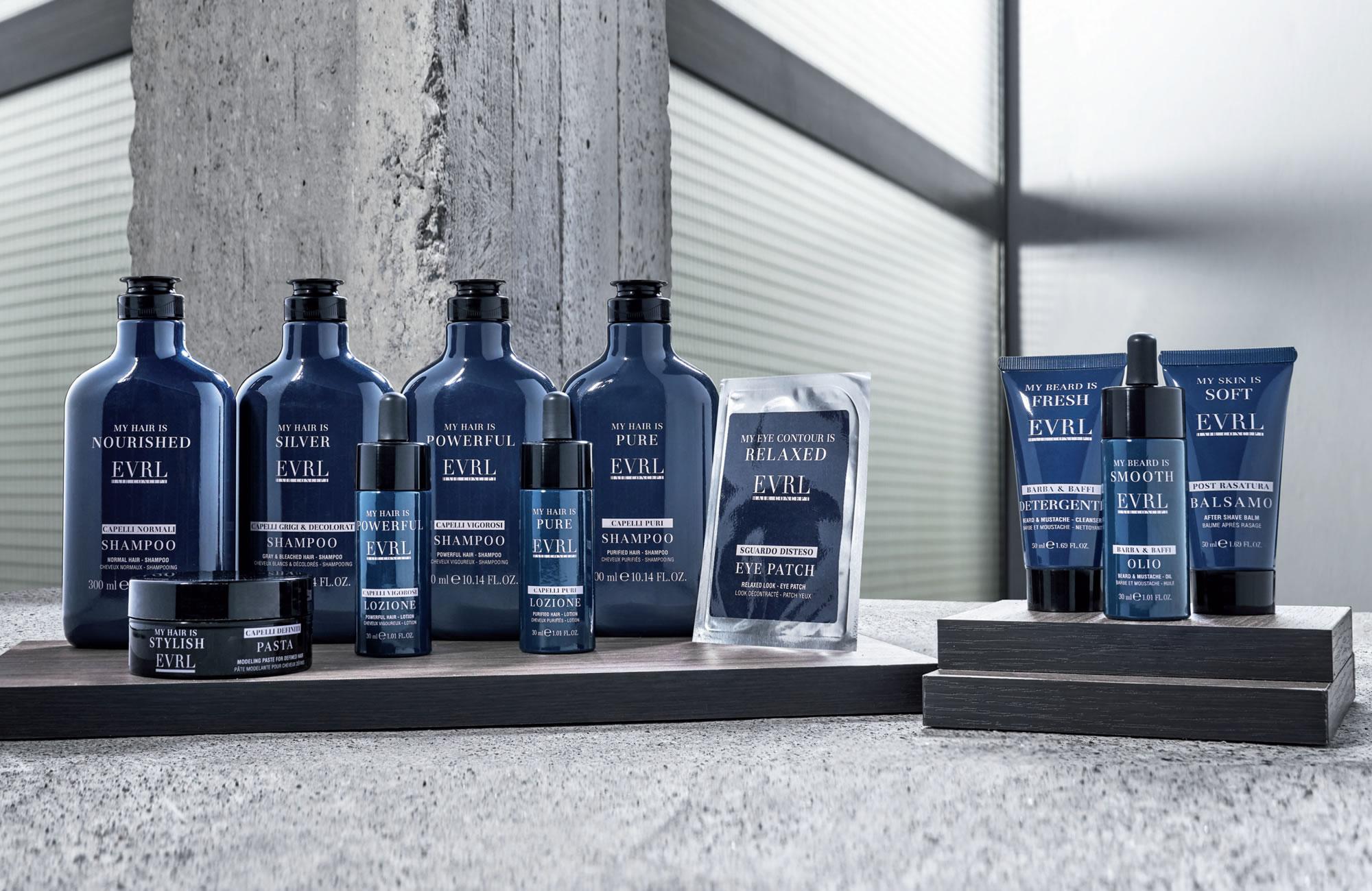 EVRL - Hair Concept - Haarproducten voor heren